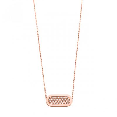 Collier Primavera  Diamants Or rose SO SHOCKING