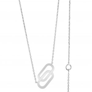 Collier Lucky in Love Or Gris SO SHOCKING